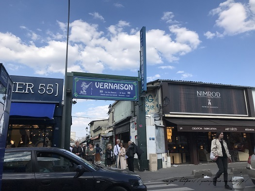 フランスパリ『クリニャンクール蚤の市』でハンドメイド資材探し♪_f0023333_22434308.jpg