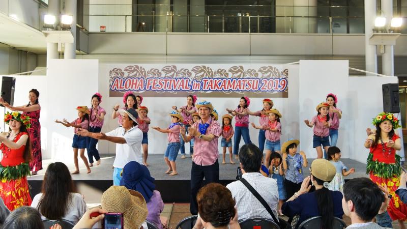 アロハフェスティバル in TAKAMATSU サブステージ ⑥ 最終_d0246136_18442572.jpg