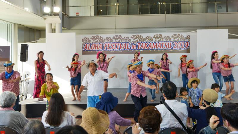 アロハフェスティバル in TAKAMATSU サブステージ ⑥ 最終_d0246136_18444046.jpg