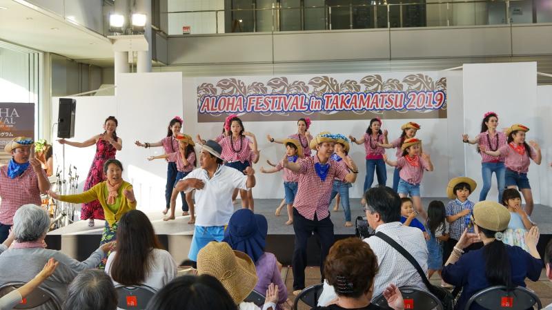 アロハフェスティバル in TAKAMATSU サブステージ ⑥ 最終_d0246136_18444398.jpg
