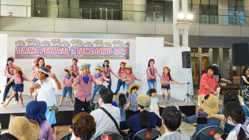 アロハフェスティバル in TAKAMATSU サブステージ ⑥ 最終_d0246136_18444753.jpg