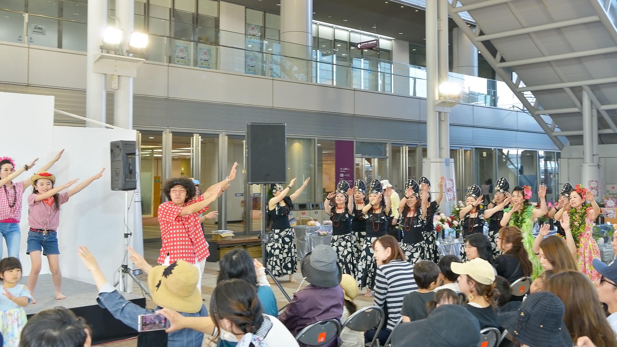 アロハフェスティバル in TAKAMATSU サブステージ ⑥ 最終_d0246136_18445506.jpg