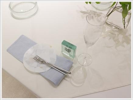 ガラスの器で初夏のテーブル -松山美恵さんの器を使って ~ブラッシュアップクラス_d0217944_23001757.jpg