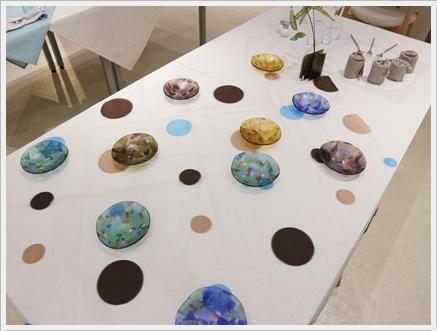 ガラスの器で初夏のテーブル -松山美恵さんの器を使って ~ブラッシュアップクラス_d0217944_23170695.jpg