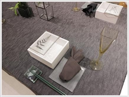 ガラスの器で初夏のテーブル -松山美恵さんの器を使って ~ブラッシュアップクラス_d0217944_23202898.jpg