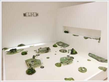ガラスの器で初夏のテーブル -松山美恵さんの器を使って ~ブラッシュアップクラス_d0217944_23270017.jpg