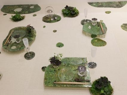 ガラスの器で初夏のテーブル -松山美恵さんの器を使って ~ブラッシュアップクラス_d0217944_23270946.jpg