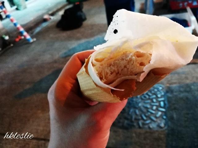 糖葱餅@廟街_b0248150_04423926.jpg