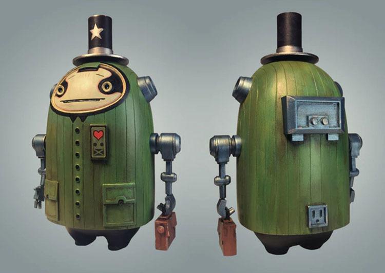 Prof. Harkin Resin Art Toy by Matt Gaser_e0118156_03325270.jpg