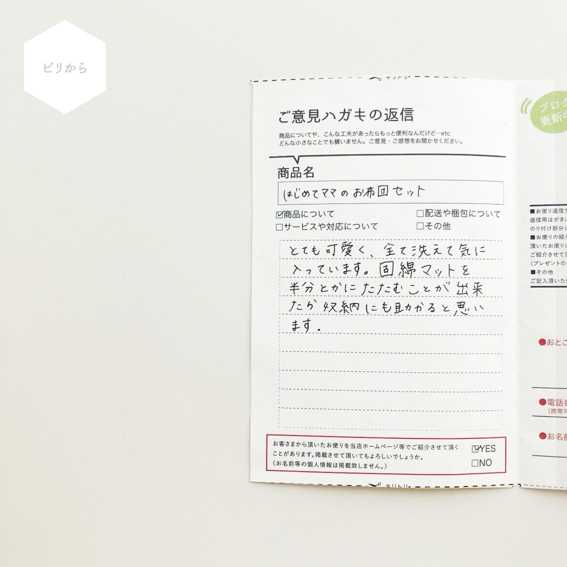 『ピリから』 固綿マットについて_e0187457_12264891.jpg