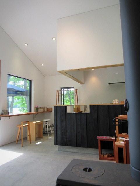 カフェ&インテリア エル/cafe and interior L * 家具工房に併設のカフェで緑陰に憩う♪~②お食事編~_f0236260_18302757.jpg