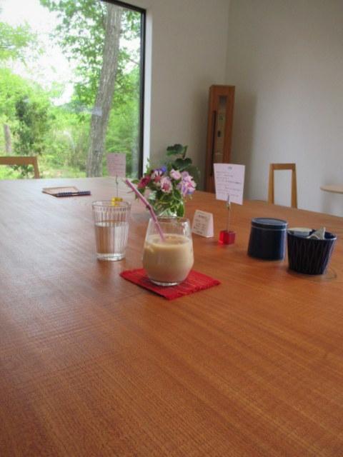 カフェ&インテリア エル/cafe and interior L * 家具工房に併設のカフェで緑陰に憩う♪~②お食事編~_f0236260_18311480.jpg
