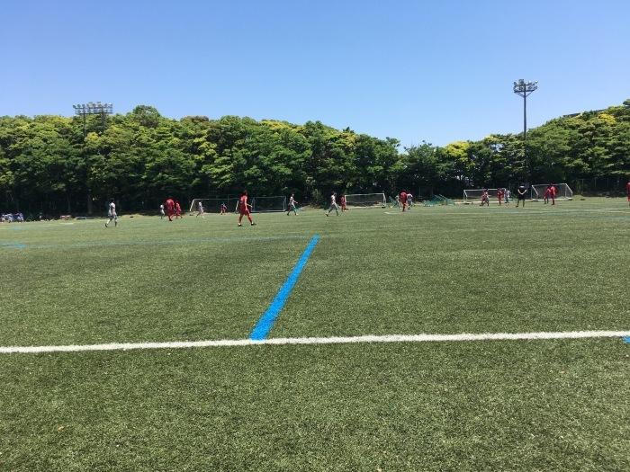 練習試合vs六浦FC_a0109270_08570226.jpg