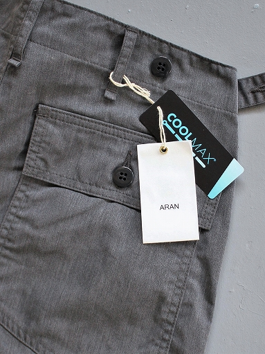 ARAN FATIGUE 46 - COOL MAX TWILL / ARMY CHARCOAL (PRODUCTS FOR US)_b0139281_22391722.jpg