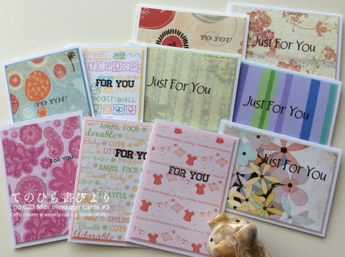 Let's create a weekly card & show off! #21 ミニカードその3_d0285885_13123033.jpeg
