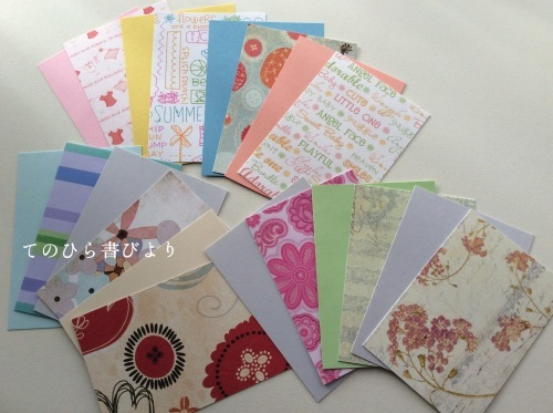Let's create a weekly card & show off! #21 ミニカードその3_d0285885_13150642.jpeg
