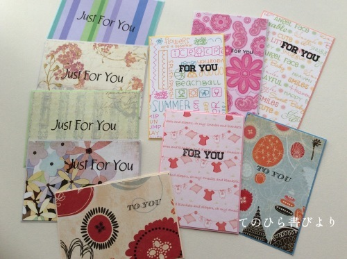 Let's create a weekly card & show off! #21 ミニカードその3_d0285885_13152298.jpeg