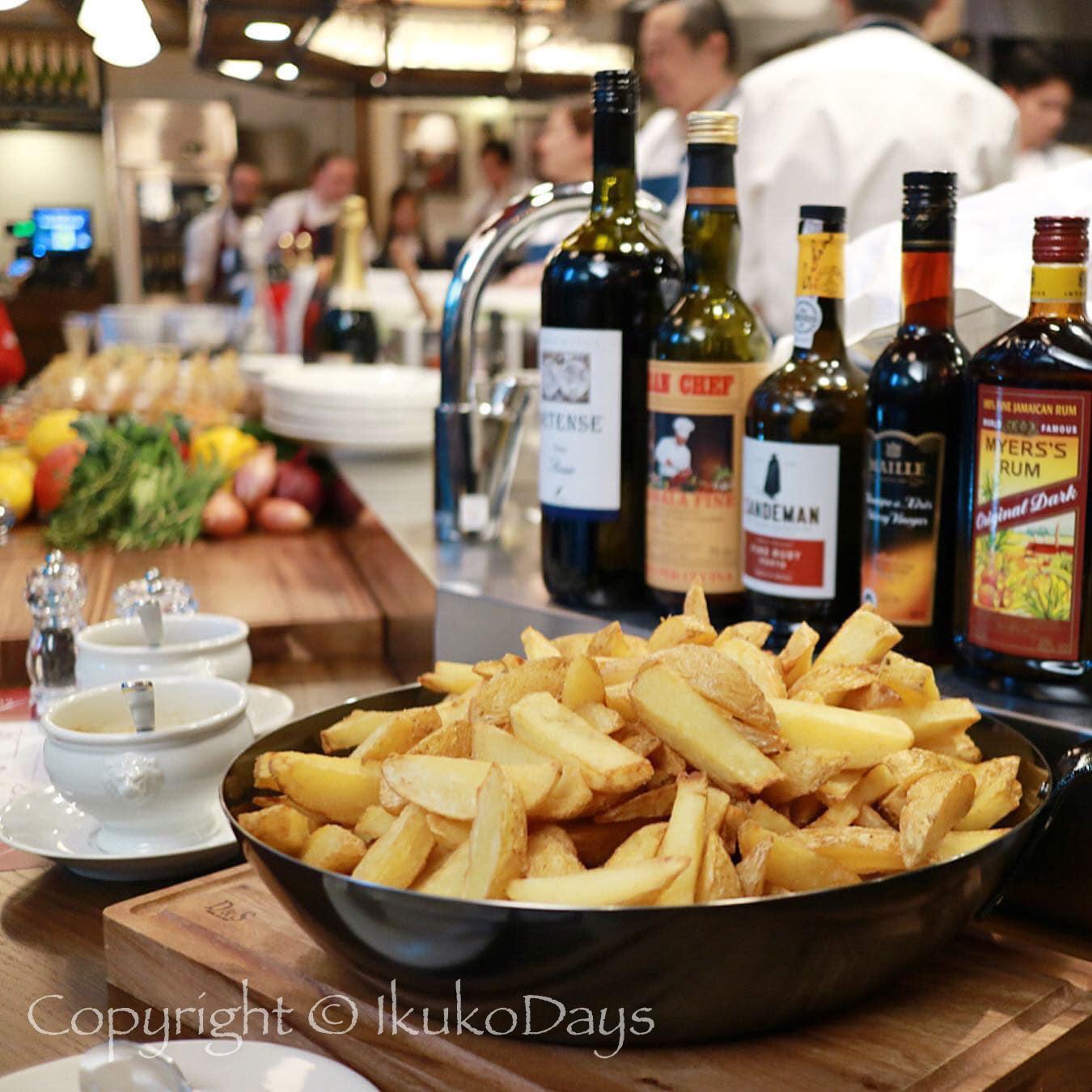 パリで連日行列必須の肉ビストロが 日本橋 にオープン:『サクレフルール 日本橋店』日本橋_d0114093_04470620.jpg
