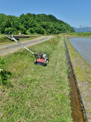 シーズン初の草刈り作業を行いました!_c0336902_19460605.jpg