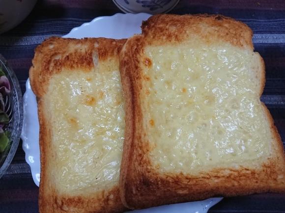 5/28 チーズトースト@自宅_b0042308_14361221.jpg
