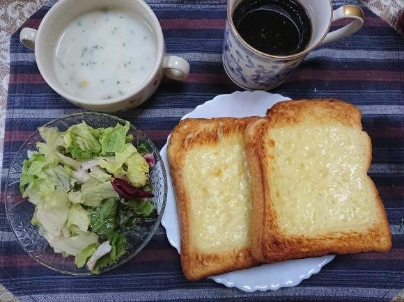 5/28 チーズトースト@自宅_b0042308_14361439.jpg