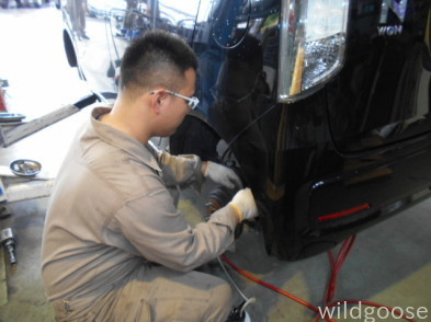 N-WGN 車検整備中(´ー+`)_c0213517_14295768.jpg