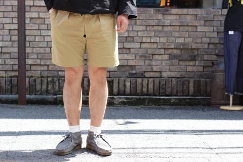 """「WORKERS」 トラッド的なショーツ \""""Tack Shorts\"""" ご紹介_f0191324_07583211.jpg"""