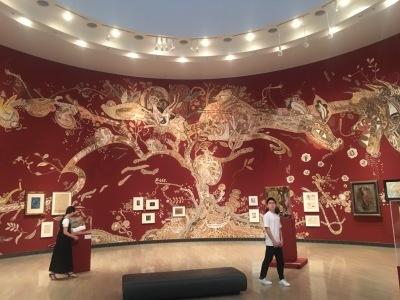「旅行人/インド先住民アートの村へ」(早稲田奉仕園)、横浜美術館_b0177242_11190827.jpg