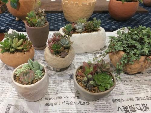 楽しい植木鉢と花器・二人展~2(記録用)_d0336460_00303718.jpg