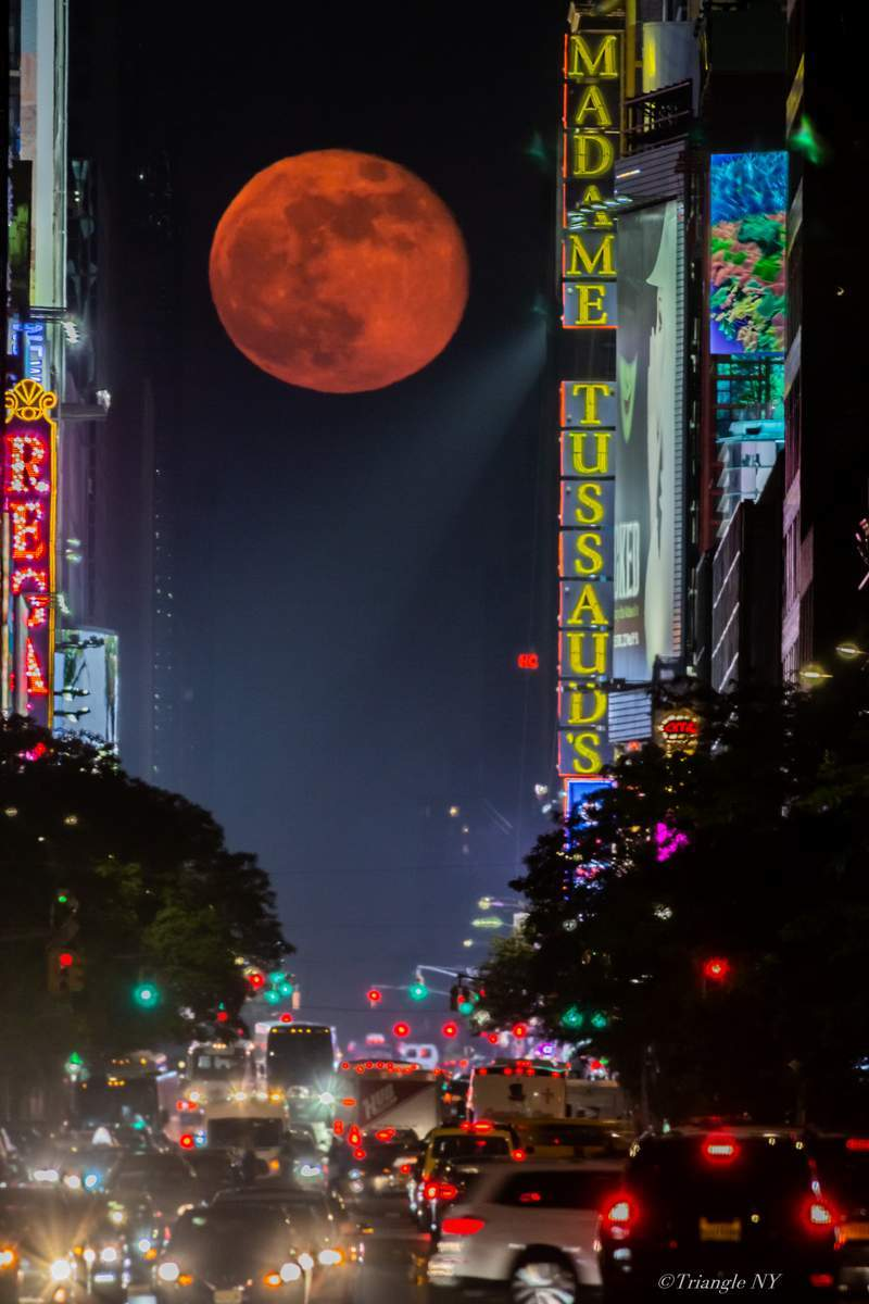 Manhattan Blue Moon Henge 2019  -令和時代初のBlue Moon-_a0274805_01191784.jpg