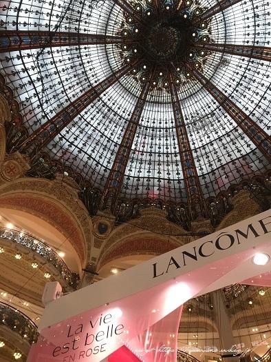 旅の予算と『ギャラリー・ラファイエット・パリ』天井の素敵なステンドグラス♪_f0023333_19522496.jpg