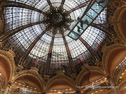 旅の予算と『ギャラリー・ラファイエット・パリ』天井の素敵なステンドグラス♪_f0023333_20223395.jpg