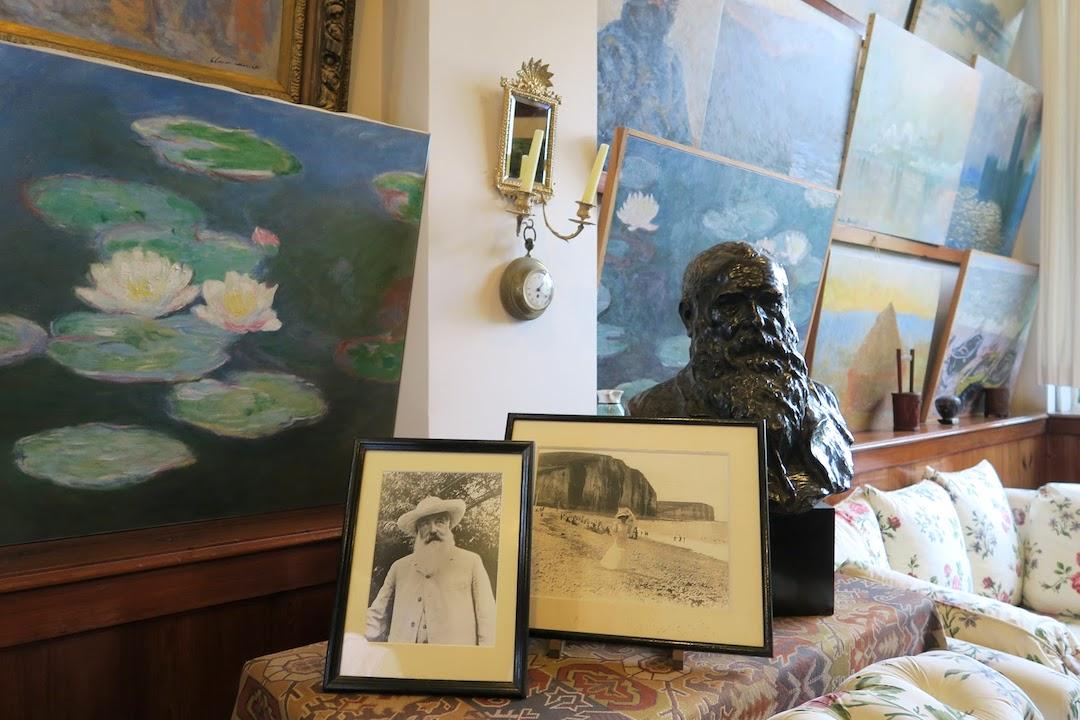『ジヴェルニーの食卓』にモネの家と庭を思う_f0234936_5441960.jpg