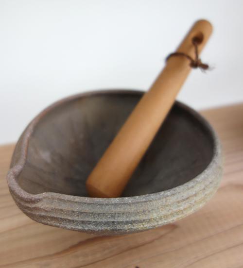 【備前 渡邊琢磨 作陶展〜ミライノカセキ】それは料理男子の台所から始まった_a0017350_04440547.jpg