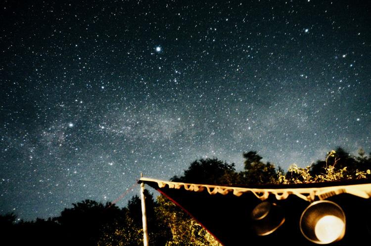 【Photo】キャンプの夜と、天の川、万葉の句_b0008655_23353779.jpg