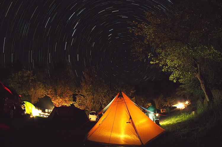 【Photo】キャンプの夜と、天の川、万葉の句_b0008655_23360861.jpg