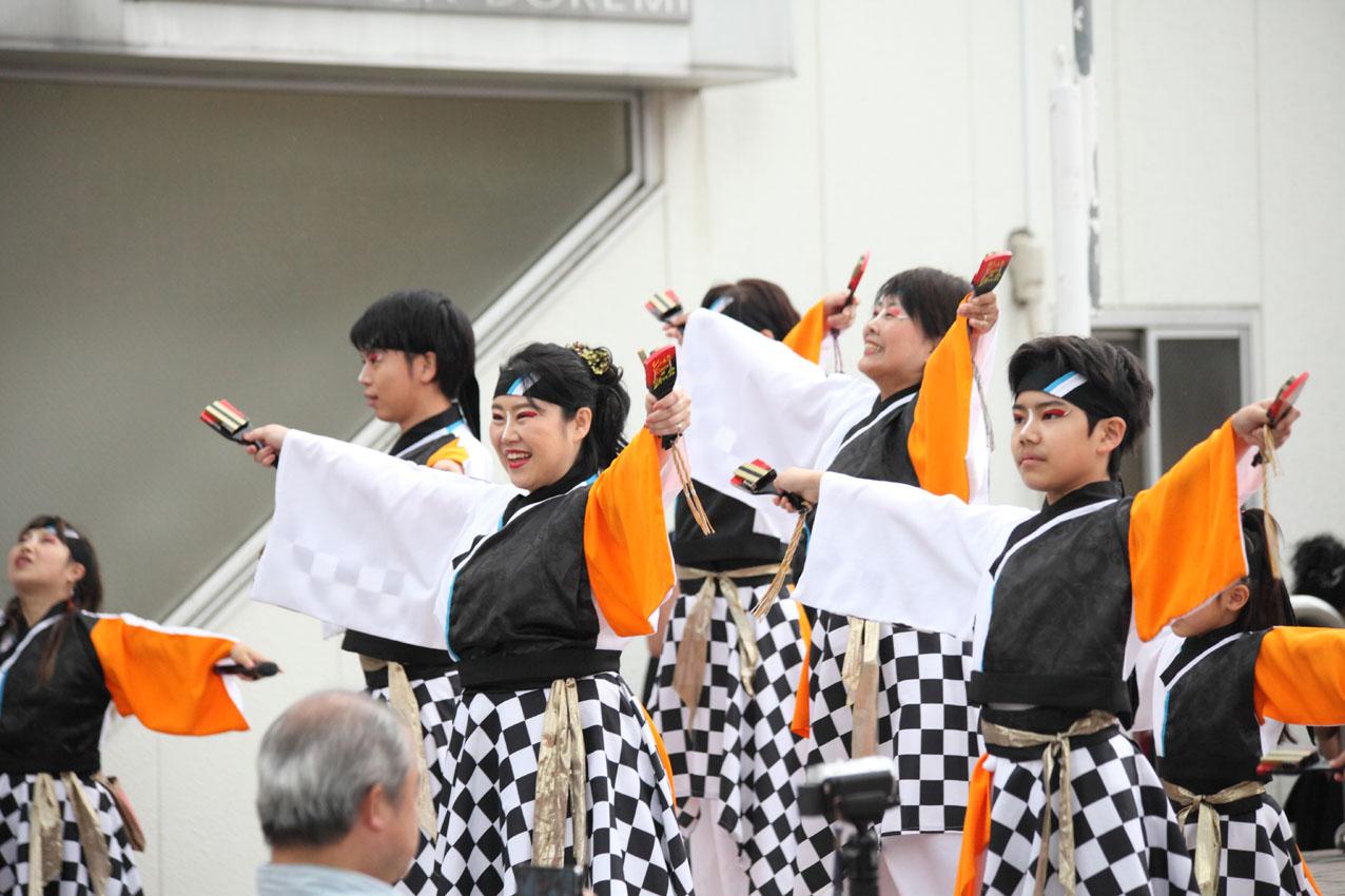 海老名イオンよさこいチームによる踊り【14】_c0299360_15218100.jpg