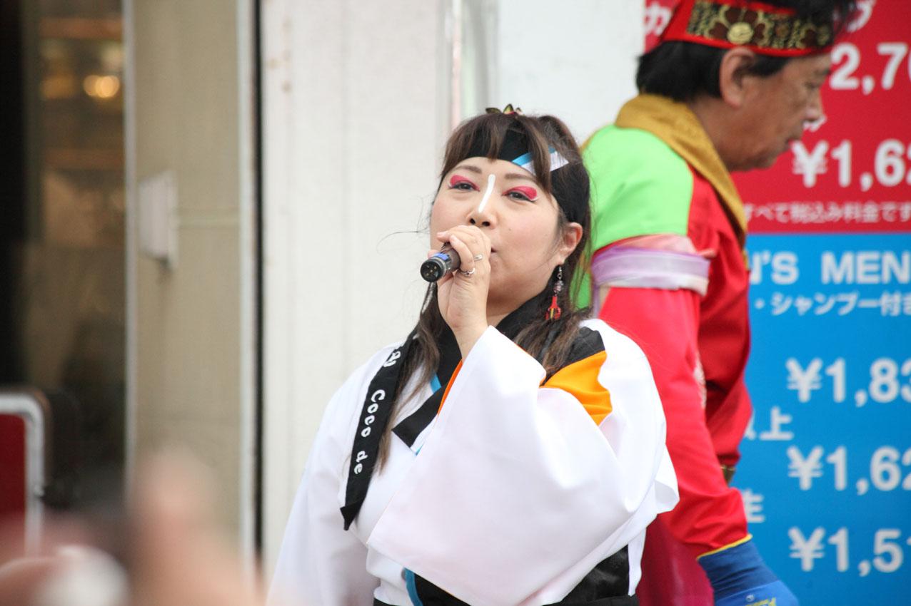 海老名イオンよさこいチームによる踊り【13】_c0299360_1573615.jpg