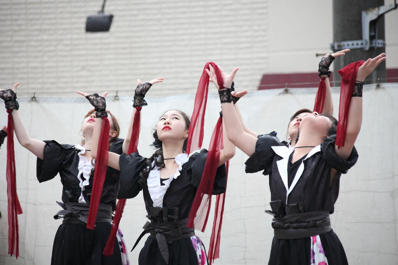 海老名イオンよさこいチームによる踊り【15】_c0299360_1733841.jpg