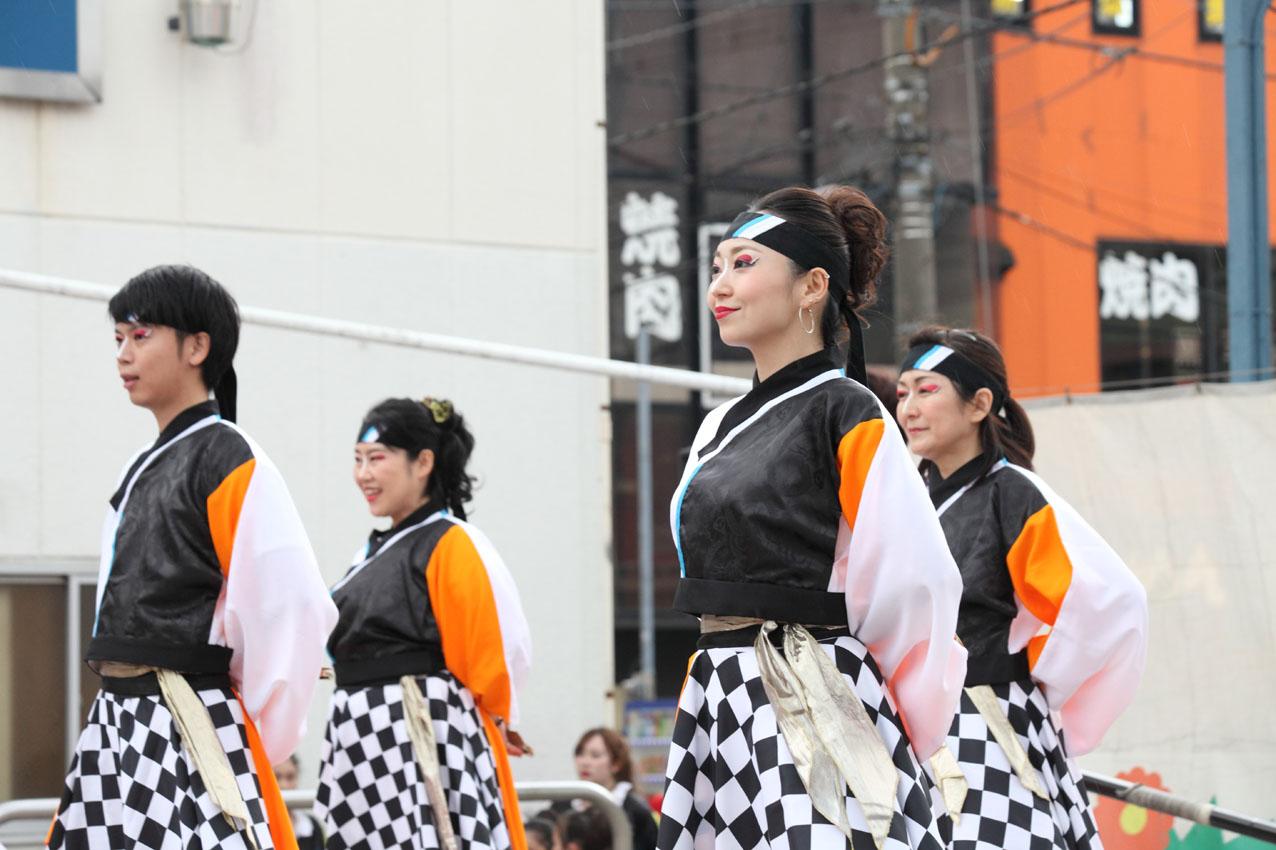 海老名イオンよさこいチームによる踊り【16】_c0299360_1934316.jpg