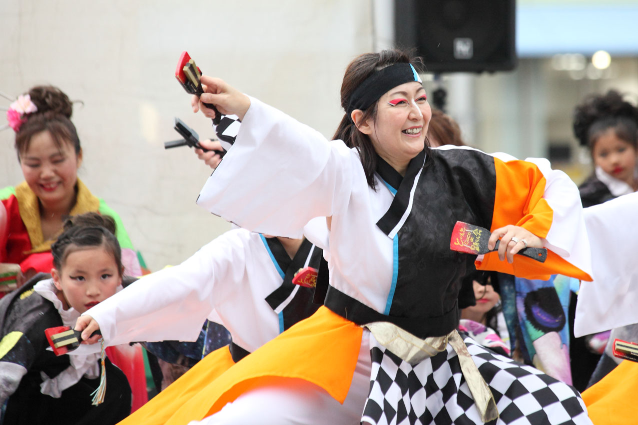 海老名イオンよさこいチームによる踊り【19】_c0299360_22152431.jpg