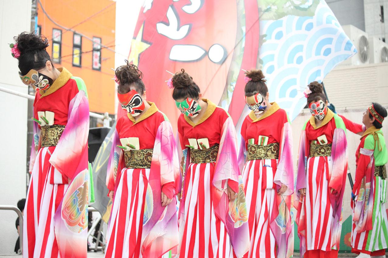 海老名イオンよさこいチームによる踊り【12】_c0299360_412558.jpg
