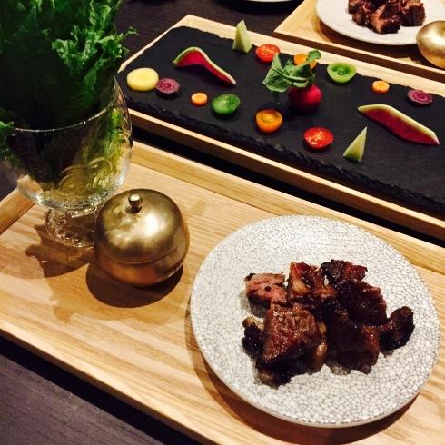 広尾の韓国料理「HASUO」さんのディナーへ・・・_f0054260_22220763.jpg