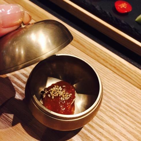 広尾の韓国料理「HASUO」さんのディナーへ・・・_f0054260_22223136.jpg