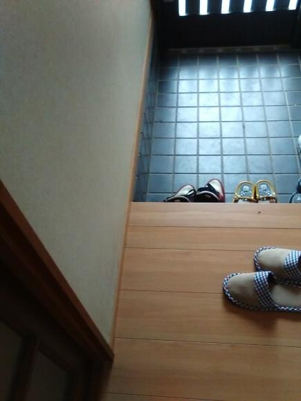 廊下の床貼り替え_d0244968_14454938.jpg