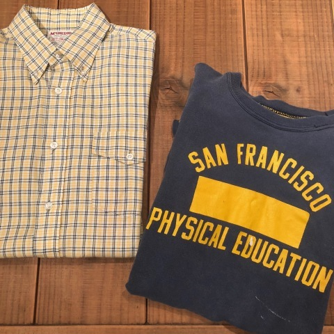 "1969-72s "" RUSSELL \"" 100% cotton - UNIVERSITY of SANFRANCISCO - VINTAGE reversible TEE SHIRTS ._d0172088_21043837.jpg"
