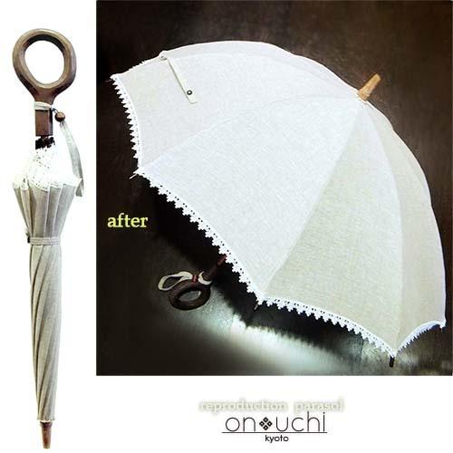 インドやミャンマーの想い出日傘の張替え_f0184004_11365925.jpg