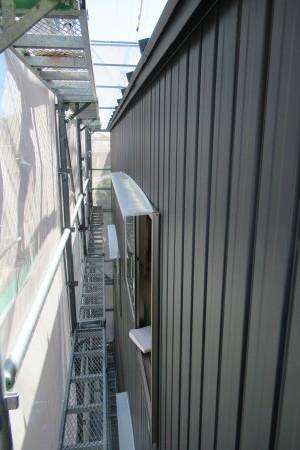 「東町の家」外壁ガルバ張り_b0179213_19222850.jpg