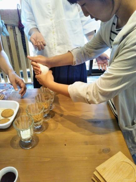 手焙煎コーヒーでティラミスを作りました_e0349922_21570996.jpg