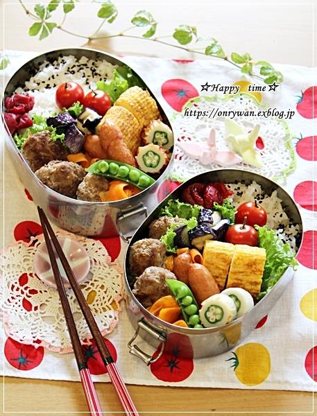ハンバーグ弁当と今夜のおうちごはん♪_f0348032_17270029.jpg